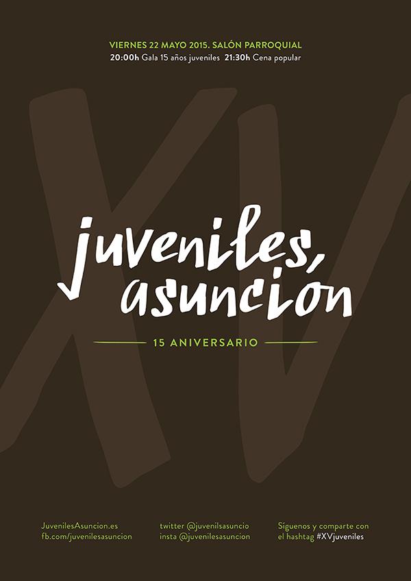Juveniles Asuncion 15 aniversario. #XVjuveniles